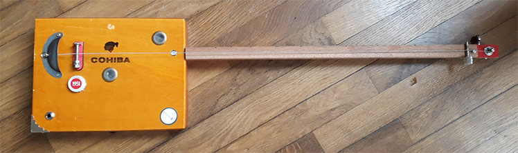 Handcraft cohiba cigarbox guitar made by One String Is Enough
